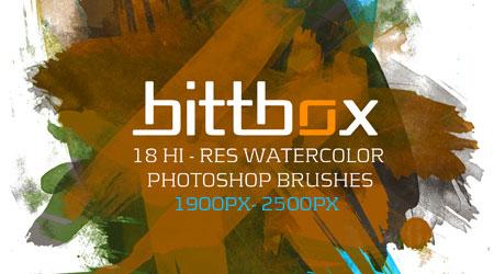 Bittbox - Free Photoshop brushes