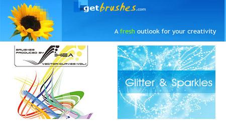 Get Brushes - Free Photoshop brushes