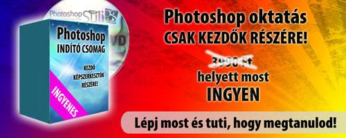 Photoshop oktatás